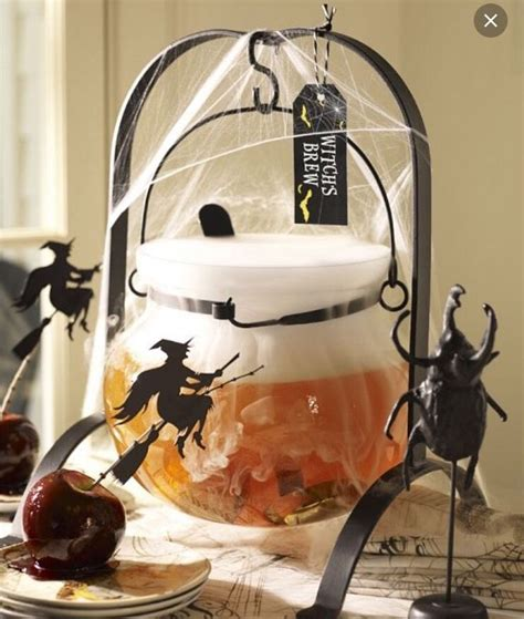 halloween drink dispenser pottery barn halloween drink dispenser witches brew