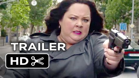 comedy film beginning with z spy official trailer 1 2015 melissa mccarthy rose