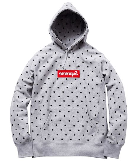 supreme x cdg hoodie sizing cashmere sweater england