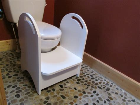 Best Step Stool For Potty by Deluxe Wood Potty Step Stool White Handmade Step
