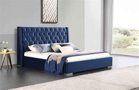 victoria ft king size velvet bed frame upstairs downstairs
