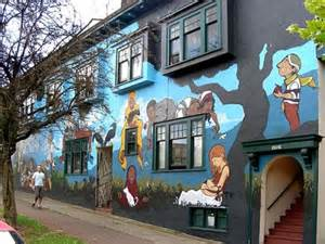 Painting Murals On Outside Walls Top 25 Ideas About Vancouver On Pinterest Front Windows