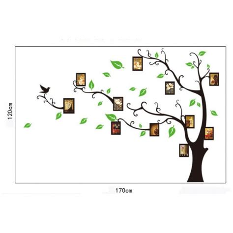photo frame tree wall sticker vinyl wall decals by