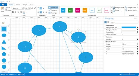 xaml flow layout devexpress diagrams for wpf