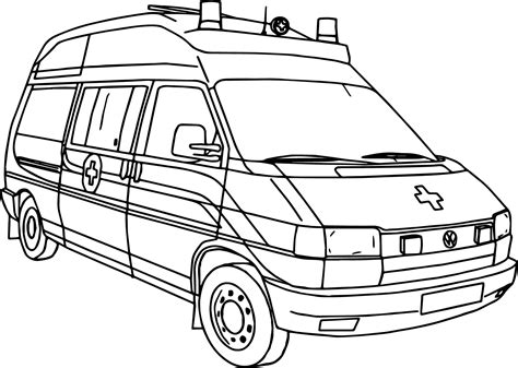 ambulance coloring pages picture of ambulance coloring page wecoloringpage