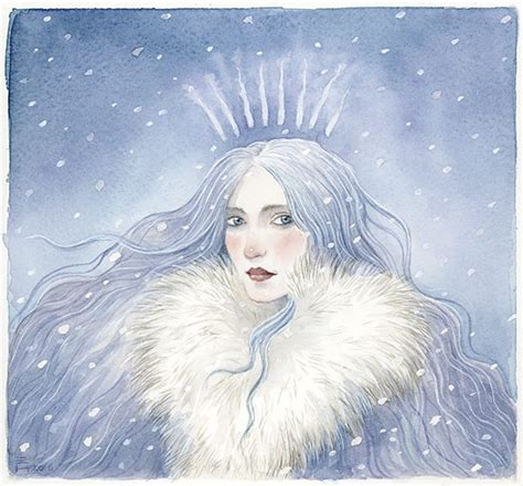 the snow queen a the snow queen hire an illustrator