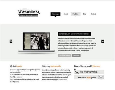 portfolio html5 template free 40 free portfolio templates design css html ginva