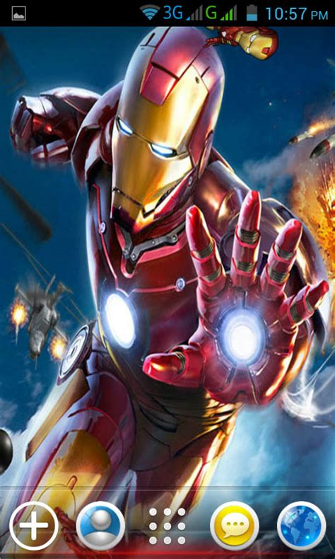 iron 3 live wallpaper apk free iron live wallpapers apk for android getjar