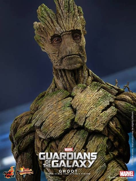 marvel film groot guardians of the galaxy hot toys groot up for order