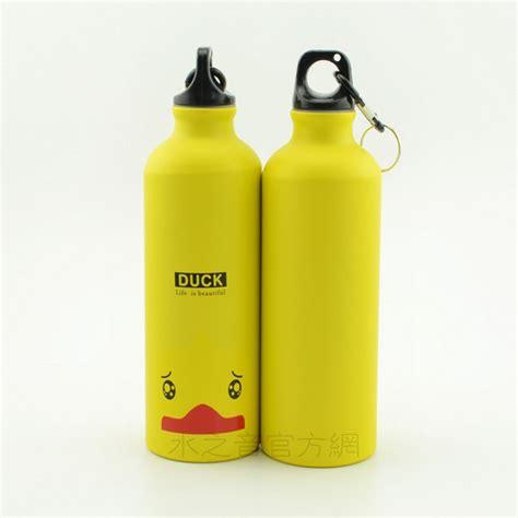 Botol Minum Kartun 500ml Dengan Karabiner botol minum kartun 500ml dengan karabiner yellow jakartanotebook