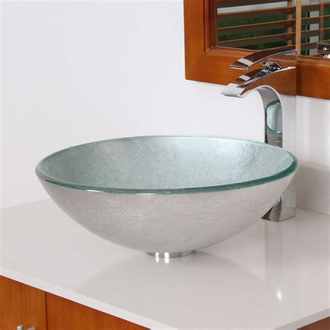stainless bathroom sink