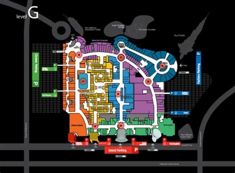 Dubai Mall Floor Plan | archive of affinities
