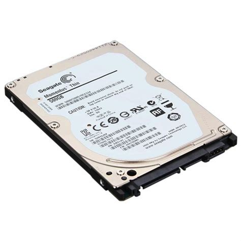 Hardisk Seagate Momentus Thin 500gb seagate st500lt012 momentus thin 500gb sata ii 2 5 quot drive