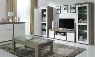 meuble tv mural marron artzein
