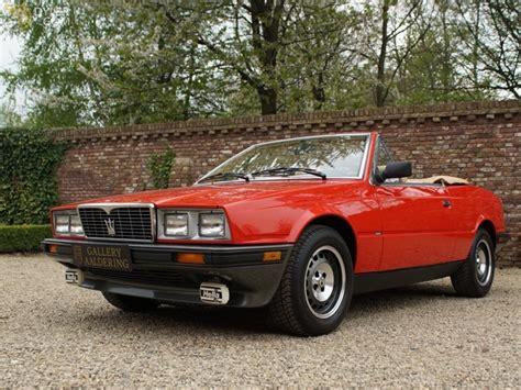 old maserati biturbo classic 1986 maserati biturbo e cabriolet roadster for