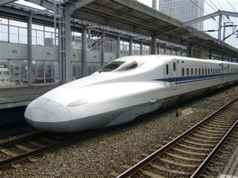 fast in japanese type n700 bullet train is japan s fastest yet