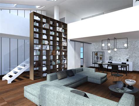 libreria soppalco affordable tutto di lema armadio al centimetro con anta
