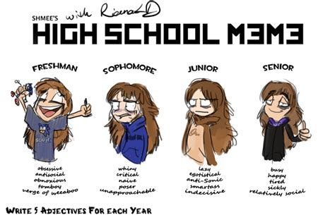 High School Senior Meme - rianald s high school meme by rianald on deviantart
