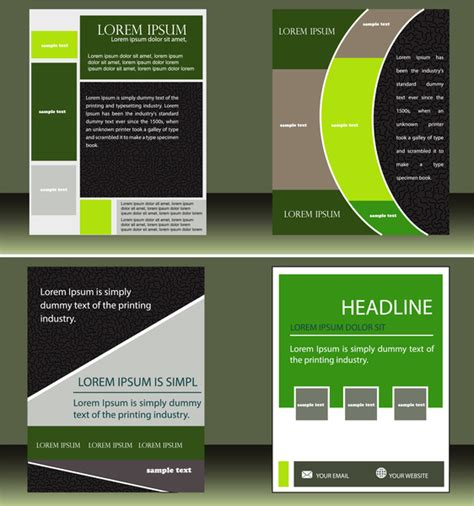 free layout design ai business layout design free vector in adobe illustrator ai