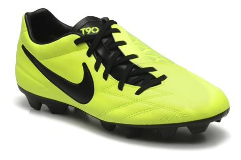 Nike T90 2 nike t90 shoot iv fg sport shoes in yellow at sarenza co uk 132609