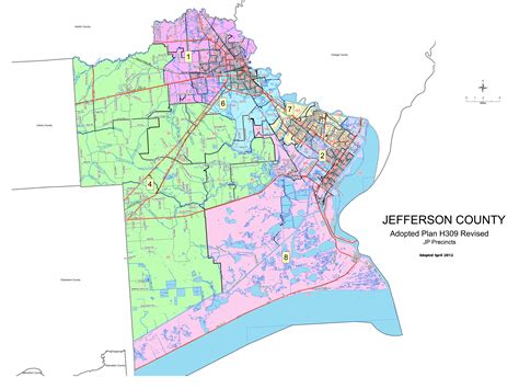 texas precinct map jefferson county texas elections jp precinct maps