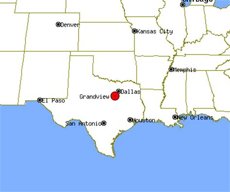 grandview texas map grandview profile grandview tx population crime map