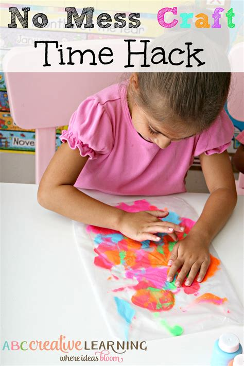 no mess crafts for no mess craft time hacks craft activities and kid