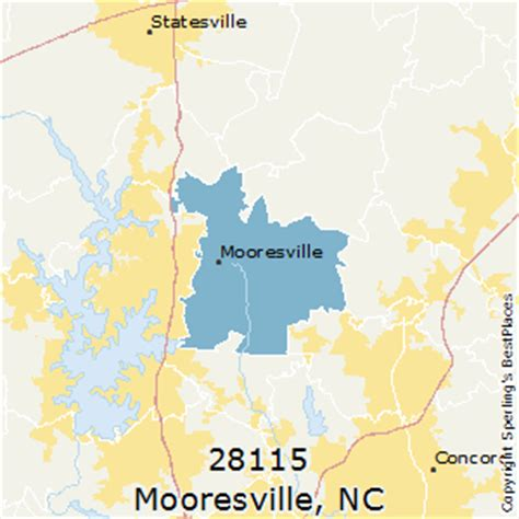 map of mooresville carolina best places to live in mooresville zip 28115 carolina