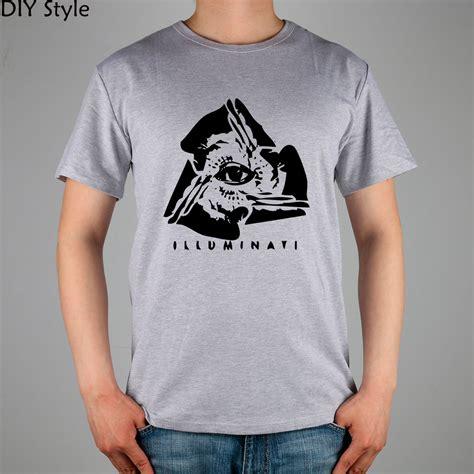 illuminati t shirt illuminati logo t shirt cotton lycra top 2824 fashion