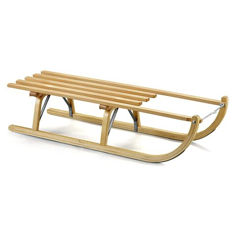 davos style wooden sled 211601 sleds at sportsman s guide