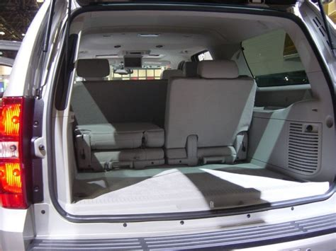 2006 Chevy Tahoe Interior by Tahoe Interior Rear View 2007 Chevy Car Pictures By
