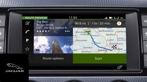 auto manual repair 2011 jaguar xk navigation system jaguar f type 18my incontrol touch pro navigation entering a destination youtube