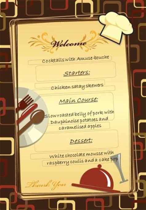 come dine with me menu template come dine with me part 3 of 4 chang e 3