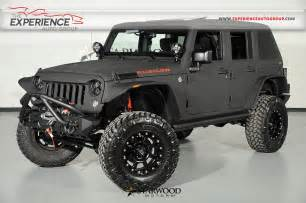 Custom Jeep Wrangler Unlimited For Sale Used 2015 Jeep Wrangler Unlimited Rubicon Starwood Custom