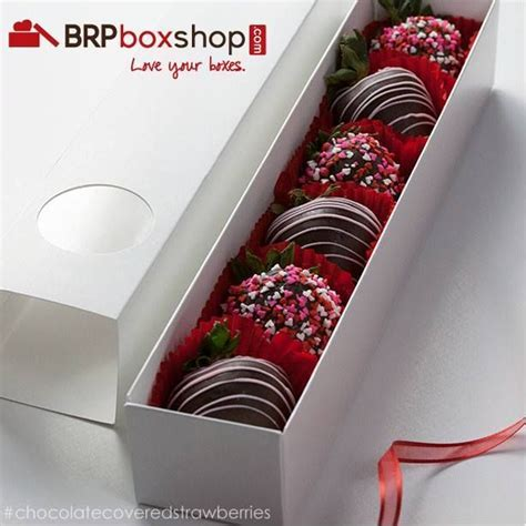 Chocolate covered strawberries in @BRP Box Shop macaron
