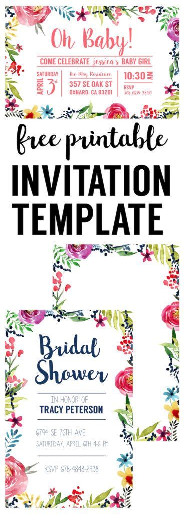 Come With Me Bash Ae Invites by Best 25 Free Printable Birthday Invitations Ideas On