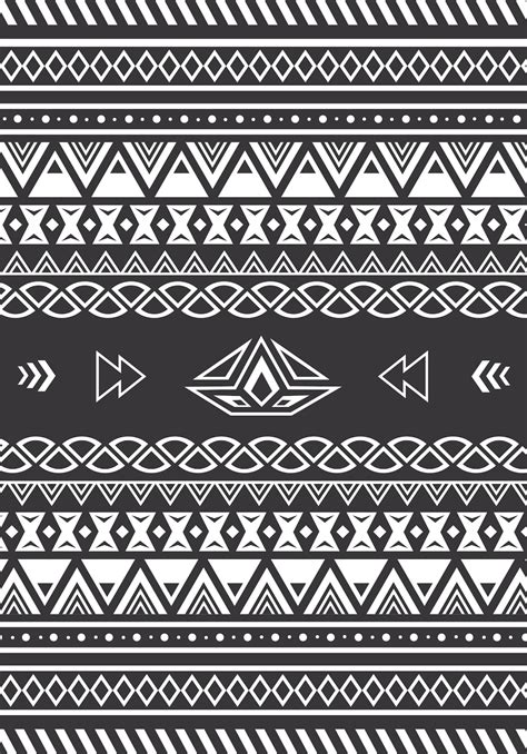 aztec pattern black and white swapiinthehouse aztec pattern