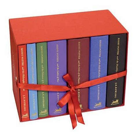 the on goal series box set books harry potter special edition boxed set j k rowling