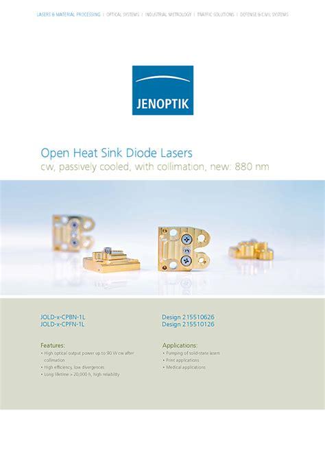 laser diode jenoptik jenoptik laser diodes 28 images qcw stacks for the harshest climatic conditions jenoptik