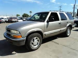 Chevrolet Sport Utility Vehicles Sell Used 1998 Chevrolet Blazer Lt Sport Utility 4 Door 4