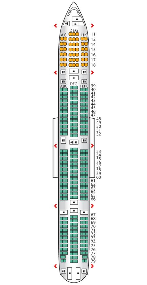 cathay pacific seat map cathay pacific boeing seating plan foto 2017
