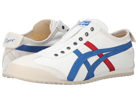 Asics Onitsuka Tiger Mexico Sepatu Sneakers Pria onitsuka tiger by asics mexico 66 174 slip on at zappos
