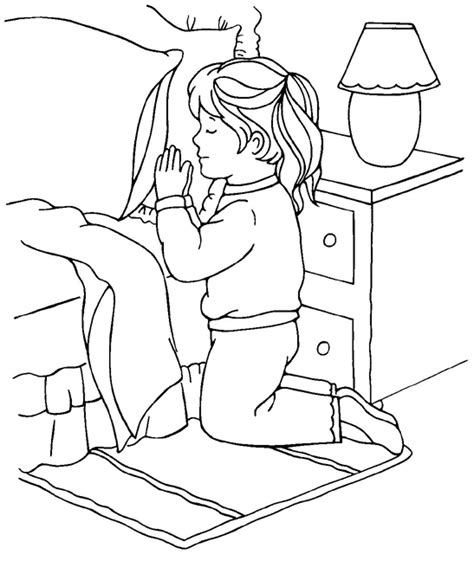Pin Kid Praying Colouring Pages On Pinterest Children Praying Coloring Page