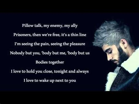 Lyrics Pillow Talk by Zayn Pillowtalk Lyrics