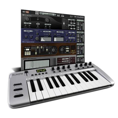 Keyboard M Audio m audio keyrig 25 midi keyboard 25 key midi keyboard
