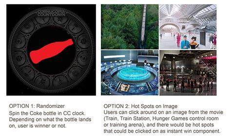 Coke Instant Win - jane goldman portfolio coca cola the hunger games