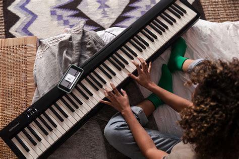 piano numerique portable roland fp  bk