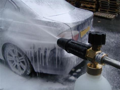 Sho Snow Wash car washing question foam dilution