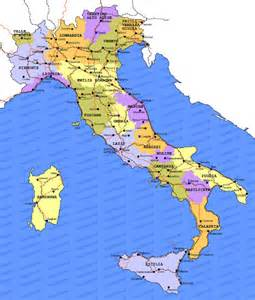 Italy Map Regions by Gallery For Gt Italy Map Regions
