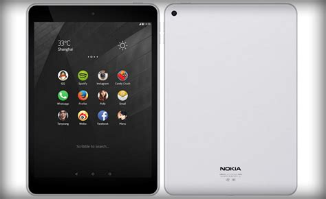 Tablet Oppo Android Lollipop nokia unveils android tablet running 5 0 lollipop best tech guru